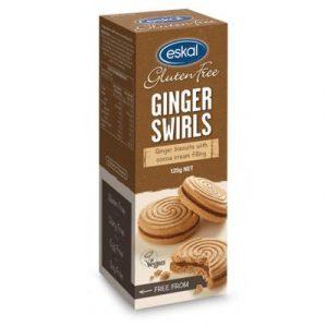 Ginger Swirls Biscuits