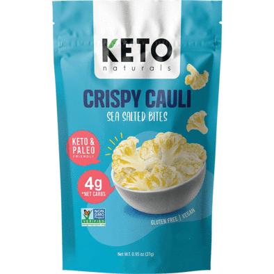 Keto Naturals Snacks Crispy Cauli Sea Salted Bites 27g Keto Naturals 14133103394915 394x