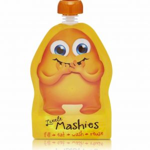 Little Mashies Reusable Food Pouch Mixed Colours Orange 1024x1024@2x