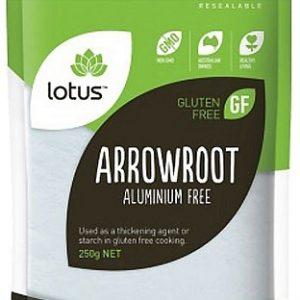 Lotus Organic Arrowroot Powder 250g