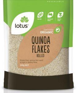 Lotus Organic Quinoa Flakes 300gm