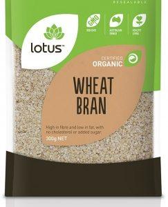 Lotus Organic Wheat Bran 300gm