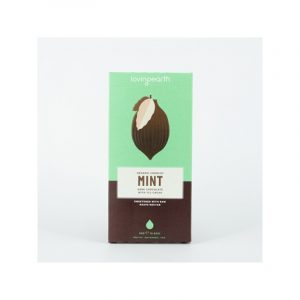 Loving Earth Crunchy Mint Dark Chocolate 80g Carton 11 Bars