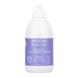 Mg Baby Range Bubbly Wash 1l 2