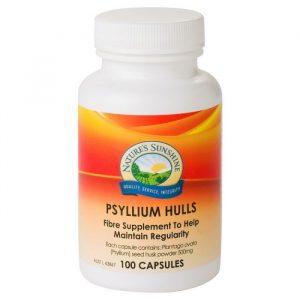 Nature S Sunshine Psyllium Hulls X 100 Capsules