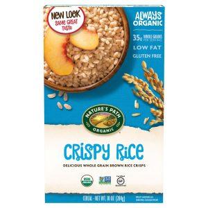 Nature's Path Organic Crispy Rice Bubbles 284g