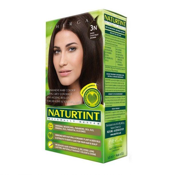 Naturtint Permanent Hair Colour 3n Dark Chestnut Brown 165ml