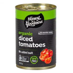 Organic Diced Tomatoes 400g Todic2 40 25305.1594950612