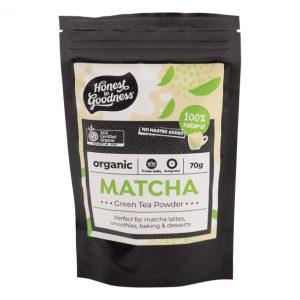 Organic Matcha Green Tea Powder 70g Front Telmatpo2.70 79261.1615164923