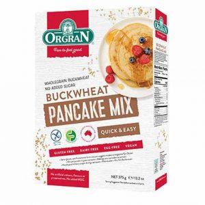 Orgran Buckwheat Gluten Free Pancakes Happytummies