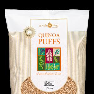 Quinoa Puffs Good Morning Cereals 1