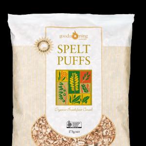 Spelt Puffs Good Morning Cereals 1