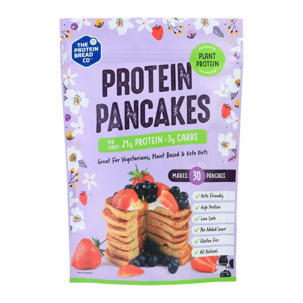 Tpbc Protein Pancake Plant Mix The Protein Bread Co 300g