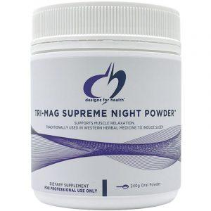 Tri Mag Supreme Night Powder Front