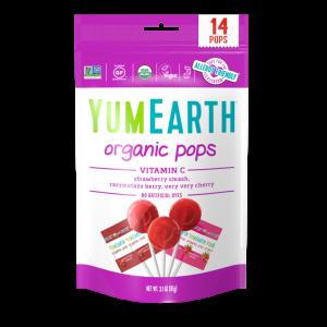 Yumearth Vitamin C Lollipops 14ct Front 720x